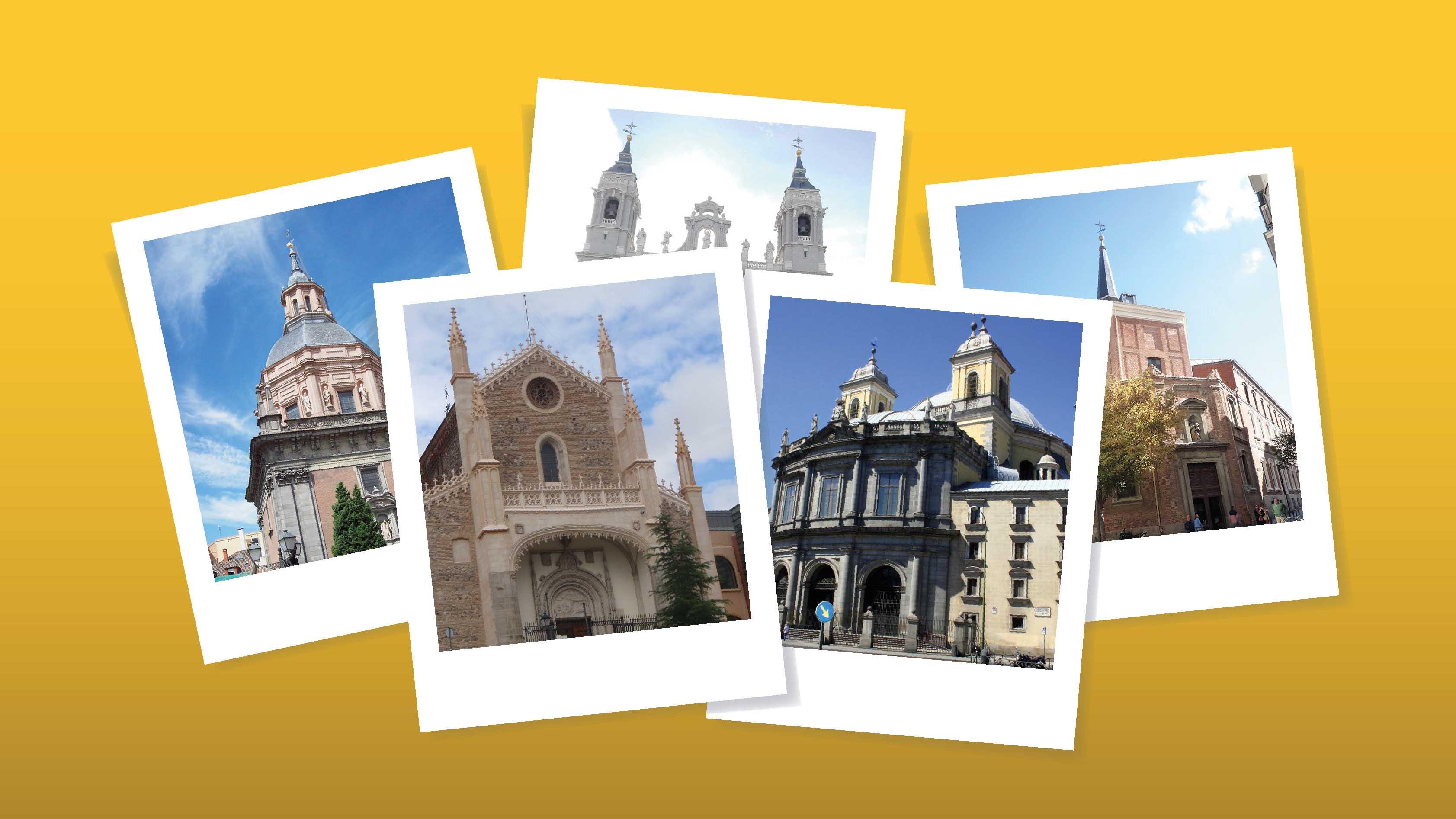 Fotografias de iglesias en Madrid
