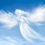 Angel in de wolken