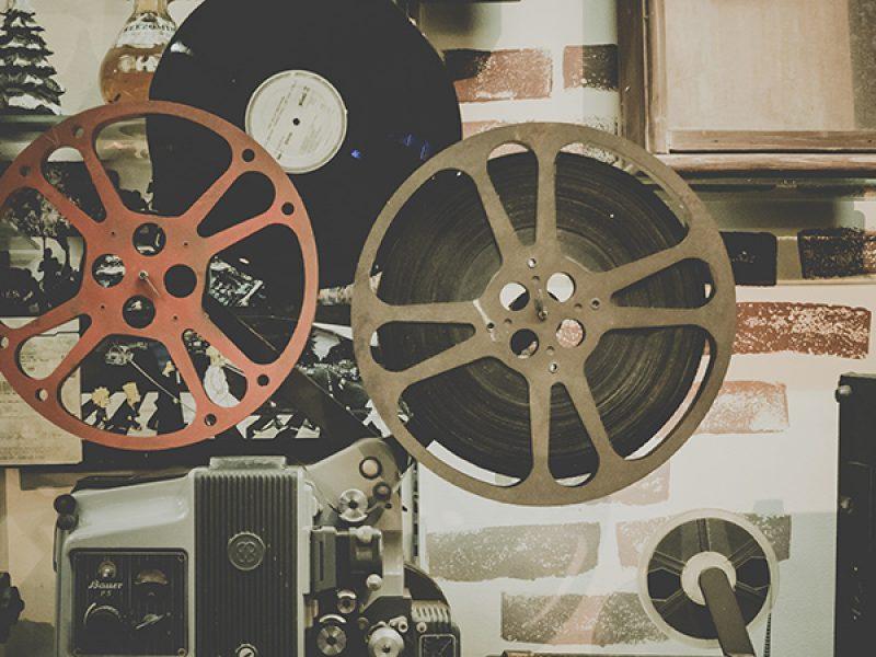 camara de cine vintage